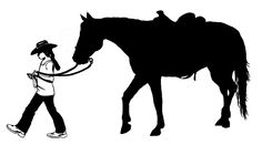 Horse-Horse decal-Vinyl wall art-Horse and rider sticker-Western Horse-28 X 14 inches, 214-HS