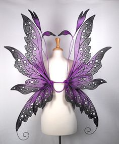 Colleen fairy wings from On Gossamer Wings http://www.fairy-wings.com/
