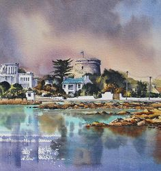 Sandycove by Roland Byrne Wall Art, Painting, Painting Art, Paintings, Painted Canvas, Drawings, Wall Decor