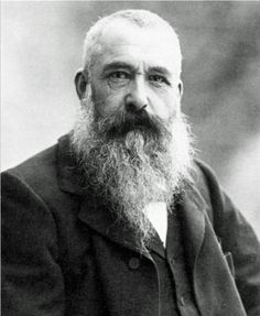 Claude Monet photo portrait