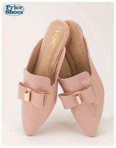 ZAPATO CASUAL TIPO SUECO #comodidad #suecos #zapatosnude #modamujer #2017 #IlovePS #PriceShoes #navidad #moños