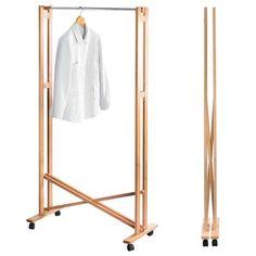 Faltgarderobe - handy for the guestbedroom