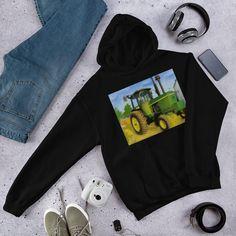 The Conjuring Music Box Hooded Sweatshirt John Deere Tractors, Queen Elsa, Elsa Frozen, The Conjuring, Rib Knit, Hooded Sweatshirts, Hoods, Stylish, Cotton