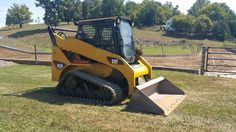 2005 Caterpillar 257B Compact Track Skid Loader Diesel Hi-Flow Heavy Machinery