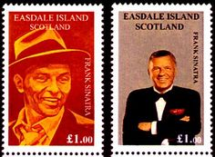 Frank Sinatra Stamps