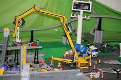 Lego Concrete Pumper