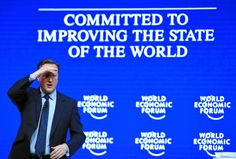 """David Cameron the British Prime Minister delivered a speech at the Annual Meeting 2016 of the World Economic Forum in Davos, Switzerland, on January 21, 2016, entitled """"Britain in the World"""". World Economic Forum/swiss-image.ch /Photo Valeriano Di Domenico."""