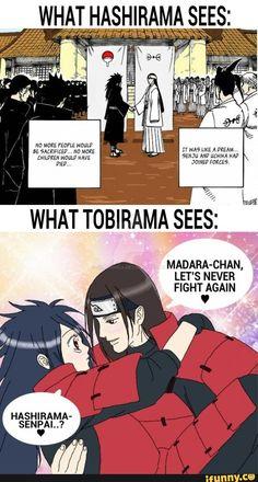 Tobirama must be into anime Madara Uchiha, Naruto Kakashi, Anime Naruto, Naruto Comic, Naruto Cute, Naruto Shippuden Anime, Otaku Anime, Akatsuki, Funny Naruto Memes