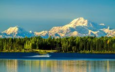 The Highest Point in the United States-Alaska's Denali the highest peak in the United States — you're going to deserve quite a treat after that climb!