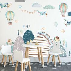 Samolepky, ktoré nesmú chýbať v izbičke zariadenej v škandinávskom štýle. Skombinujte ich s našimi ďalšími nálepkami vyčaríte hravú stenu. News Design, Baby Room, Arches, Table Decorations, House, Furniture, Kids Rooms, Home Decor, Inspire