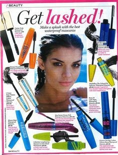 Maxi Mascara Waterproof in Best Magazine
