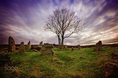 Tyrebagger (Dyce) Standing Stones by Sandie Burns on ~ Aberdeen, Scotland Aberdeen Scotland, Burns, Stones, Rock, Wall, Plants, Rocks, Stone, Rock Music