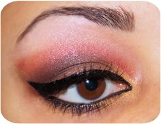 ♥ EOTD Xmas/Winter Edition Pt. 4 ~ !Pink and leopard prints