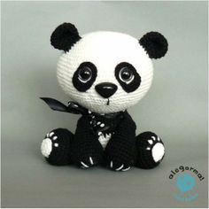 Amigurumi Free Patterns Pokemon : 1000+ ideas about Crochet Panda on Pinterest Crocheting ...