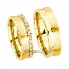 Alianças de Casamento em Ouro Morumbi