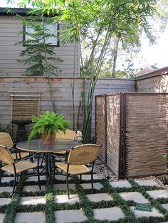 love the patio floor, concrete patio ideas, outdoor style