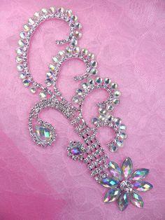 N79 cristal AB Aurora Borealis de diamantes de por gloryshouse