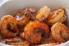 vietnamese caramelized shrimp.