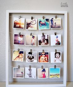 If you find cheap picture frames at thrift stores or flea markets, you can easily turn them into amazing photo displays. These DIY home decor ideas will help you turn old frames into beautiful wall ar(Diy Photo Art)