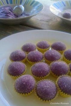 docinho de gelatina (de uva)