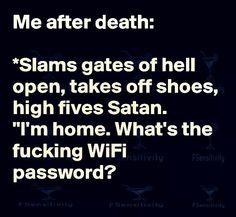 Me after death