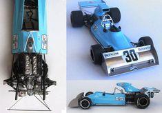 F1 Paper Model - 1974 Monaco GP Amon AF101 Paper Car Free Template Download - http://www.papercraftsquare.com/f1-paper-model-1974-monaco-gp-amon-af101-paper-car-free-template-download.html#124, #AF101, #Amon, #AmonAF101, #Car, #F1, #F1PaperModel, #FormulaOne, #PaperCar