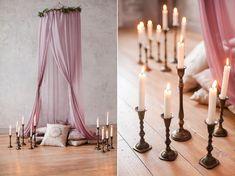 Photo session - mini sessions candles romantic