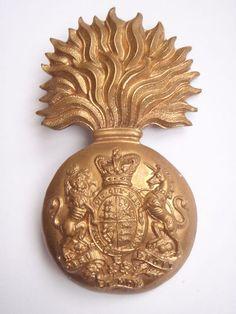 Victorian Royal Scots Fusiliers cap badge. Military Cap, Military Insignia, Scottish Dress, British Army Uniform, British Isles, Pin Badges, Military History, Victorian Era, Graham