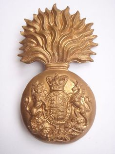 Victorian Royal Scots Fusiliers Cap Badge