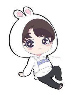 Jungkook pervert anime art t Jungkook Fanart, Yoonmin Fanart, Kpop Fanart, Bts Jungkook, Taehyung, Bts Chibi, Anime Chibi, Bts Drawings, Kawaii Drawings
