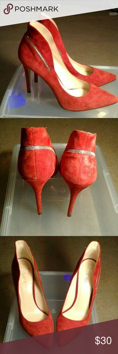 Nine West Heels Worn twice but too big for me. Nine West Shoes Heels