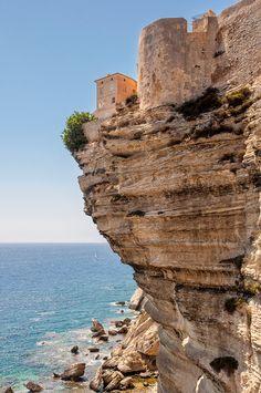The Cliff, Bonifacio, France