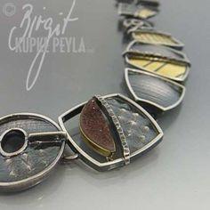 Bracelet | Bridgit Kupke-Peyla I am always inspired by a mix of textures.
