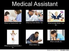 Certified medical assistant My life until I graduate nursing school