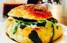 When food is life! #loveforfood #ilovefood #foodie #fetacheese #burgers #coworkingspace #officespaces #beautifuloffices #healthyeating #eathealthy #cleaneating #breakfast