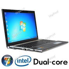 "15.6"" Windows 7 Super Slim Laptop Notebook w/ Camera (Intel Celeron 1037 Dual-Core 1.5GHz 2GB HD 320G) L-91395"