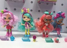 The new dolls Shoppies Dolls, Shopkins And Shoppies, Diy Clay, Clay Crafts, Diy And Crafts, Best Electric Scooter, Monster High Birthday, Barbie Toys, New Dolls