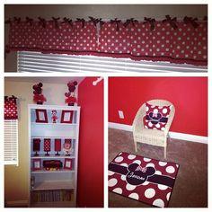 Original Minnie Mouse room decor.