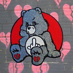 Bear Wallpaper, Cartoon Wallpaper, Cute Wallpapers, Wallpaper Backgrounds, Care Bear Tattoos, Trippy Drawings, Bear Drawing, Stoner Art, Tatoo