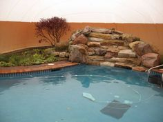 finally an affordable way to swim year round in your own backyard best defense pool enclosures has been installing removable inflatable pool domes