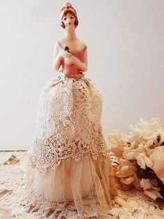 beautiful half doll
