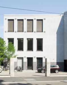 Peter Märkli - Hotelfachschule Belvoirpark, Zürich (III)  2014