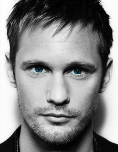 Alexander Skarsgard. I am pretty sure god sent us this man as a gift, to remind us that beauty is out there, and it is enjoyable to look at.