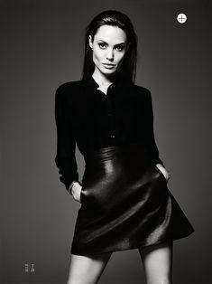 ELLE MAGAZINE Angelina Jolie in Untamed Heart by Hedi Slimane. Joe Zee, June 2014, www.imageamplified.com, Image Amplified (9)