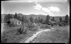 Residence of writer Peggy Pond Church at Los Alamos Ranch School in New Mexico, ca. 1925-42, by T. Harmon Parkhurst. Palace of the Governors Photo Archives 001288.