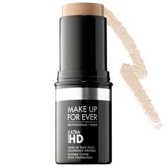 What it is:A long-lasting, multitasking cover stick with invisible coverage for foundation touch-ups and contouring.  What it does:Ultra HD Invisible Cover Stick Foundation creates a flawless complexion on camera, and to the naked eye. Developed sp