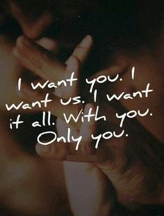 Absolutely... you & me, baby!