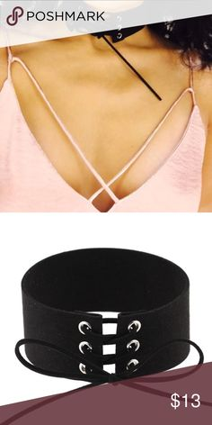 Sale! A must have ! Hot Velvet Choker. Suede Material. Jewelry Necklaces