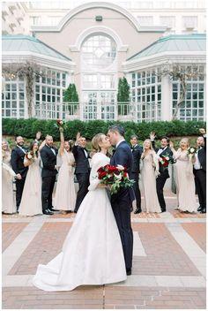 Beauty And The Beast Wedding Dresses, Beauty And The Beast Theme, Wedding Beauty, Hotel Wedding, Luxury Wedding, Wedding Venues, Dream Wedding, Bhldn Bridesmaid Dresses, Modern Wedding Inspiration