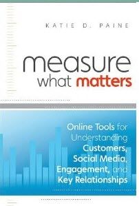 Measure What Matters   I've had the pleasure of writing a book with KD Paine on measurement over the past year - where we merged two concepts - the Networked Nonprofit and Measurement. So,  I've read this book cover-to-cover many times. It's a cookbook of measurement techniques for social media filled with helpful case studies, step-by-steps, and great advice. Want more social media book recommendations?…